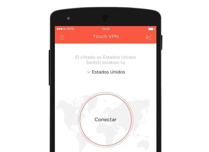 Touch VPN app