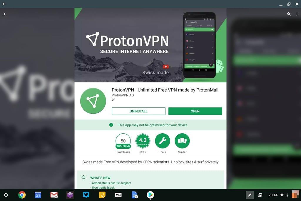 app proton vpn